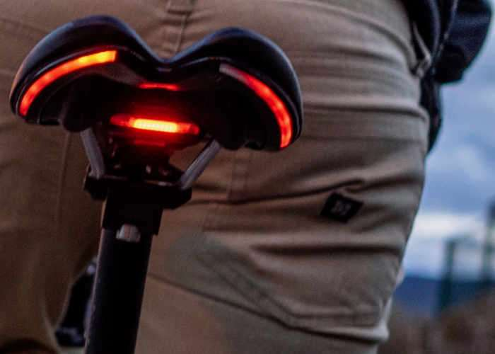 BLINK Saddles With Integral Brake And Rear Lighting