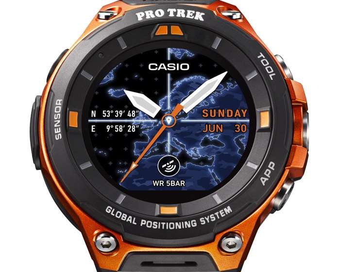 Casio WSD-F20 Android Wear Smartwatch Launched