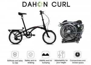 DAHON Curl Compact Folding Bike Hits Kickstarter From $999 (video)