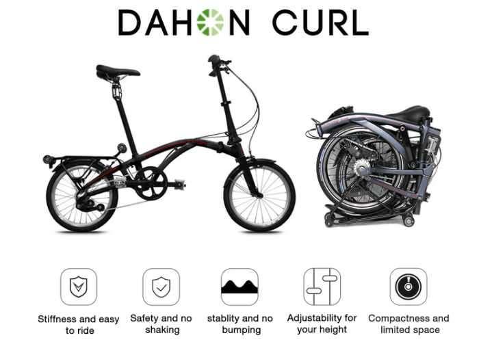 DAHON Curl Compact Folding Bike