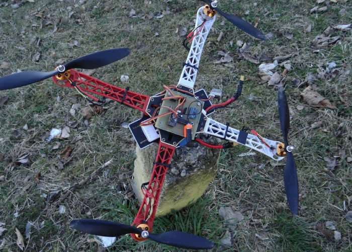Arduino drone built by year old maker video geeky