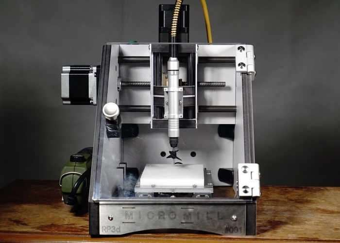 Desktop CNC Milling Machine