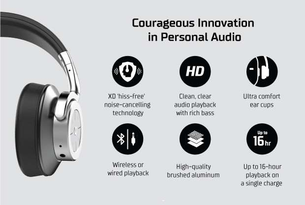 53155f8fba0 HeadSpace XD Wireless Noise-Cancelling Headphones Launch From $100 ...