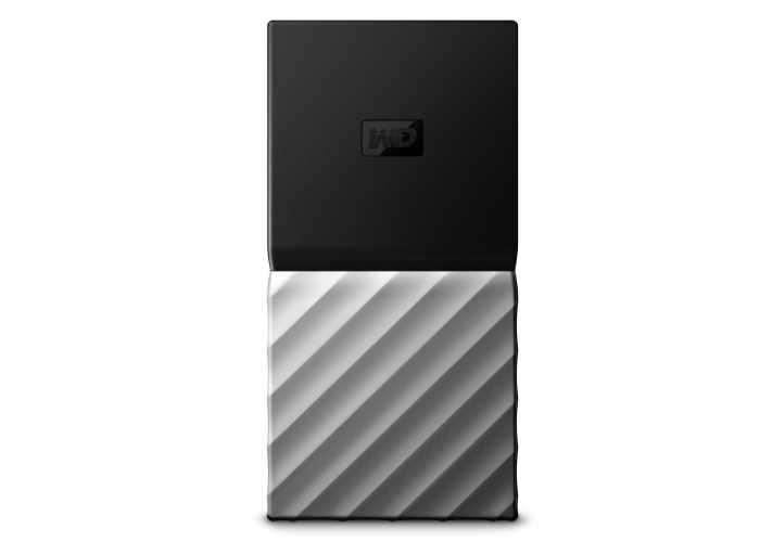 First Western Digital Portable SSD Storage