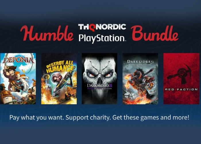 Humble THQ Nordic PlayStation Bundle