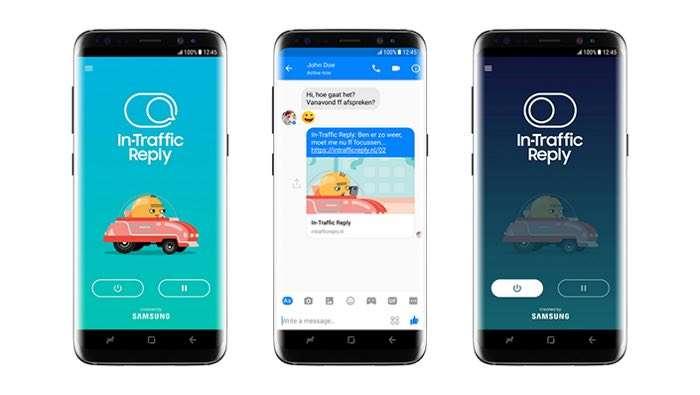 In Traffic Reply App