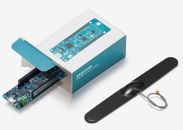 New Arduino MKRFOX1200 Internet Of Things Development Board Unveiled (video)