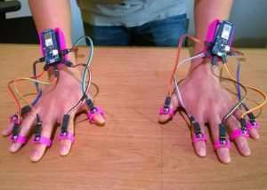 Lift Arduino Powered Finger Tracking System