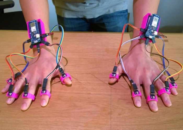 LIFT Arduino Finger Tracking