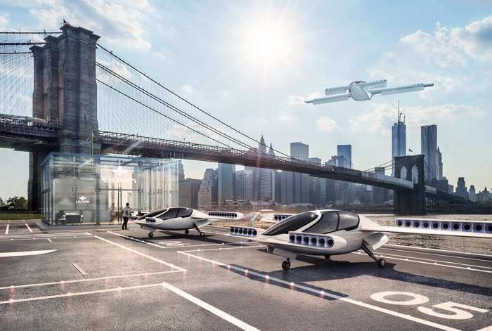 Is this flying vehicle which takes off vertically the future of transport?