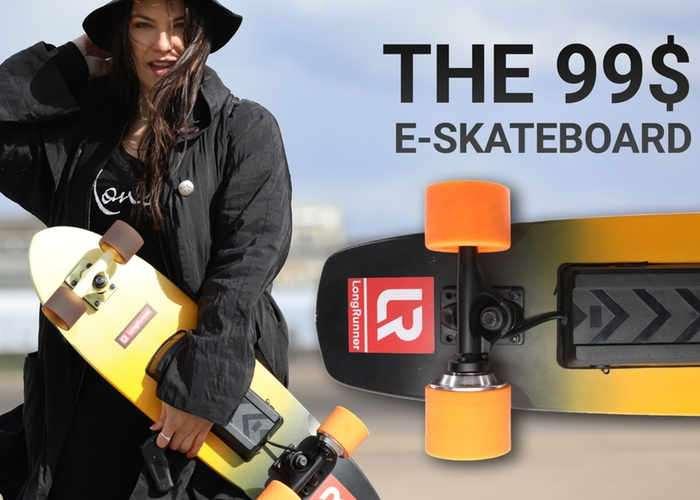 Longrunner LongRange E-Skateboard