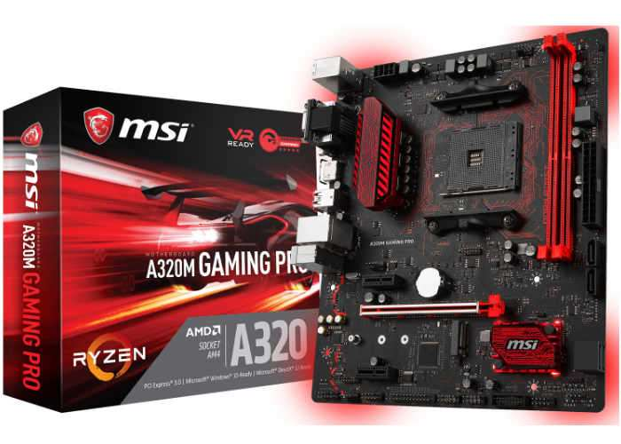 MSI A320M Gaming Pro Motherboard