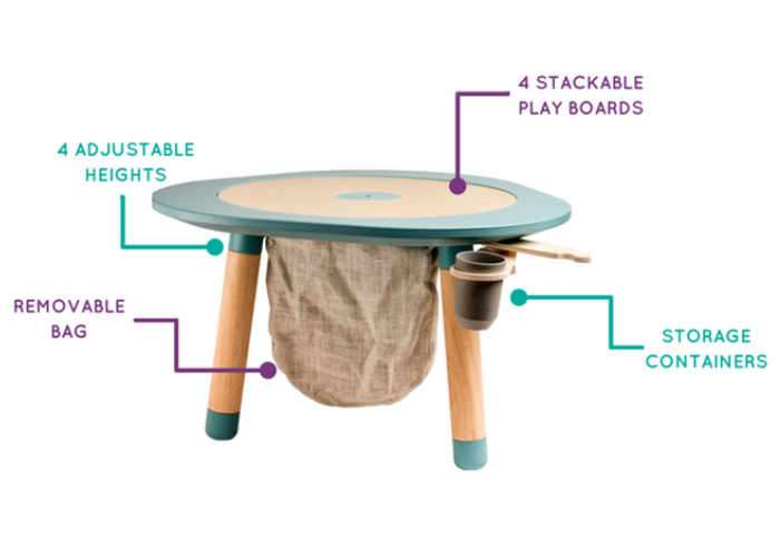 Multifunctional children's table-1
