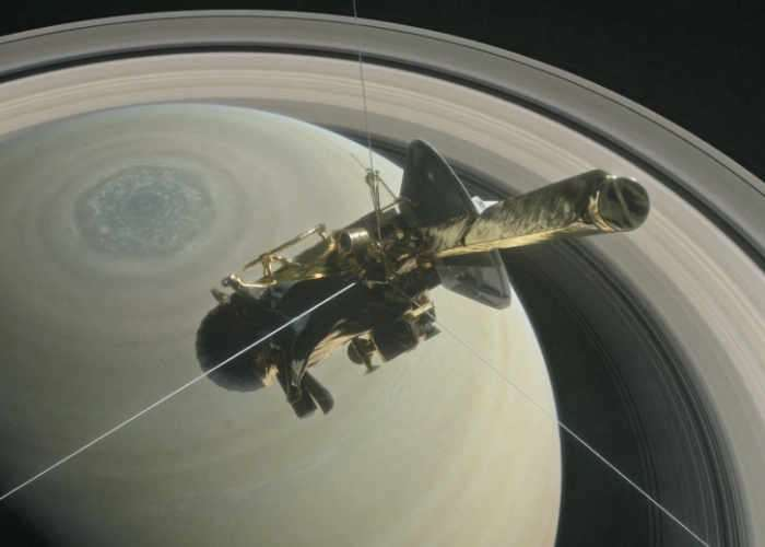 NASA Simulates Cassini Saturn Crash
