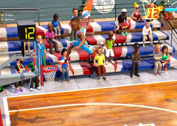 NBA Playgrounds Gameplay Trailer