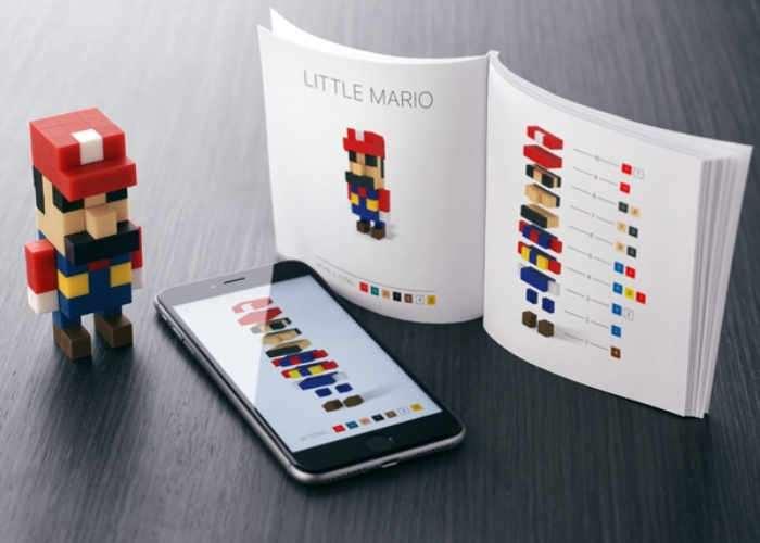 PIXIO Magnetic Pixel Art Style Construction Sets