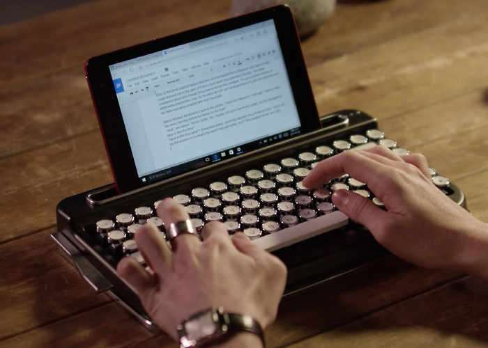 Penna Retro Bluetooth Keyboard