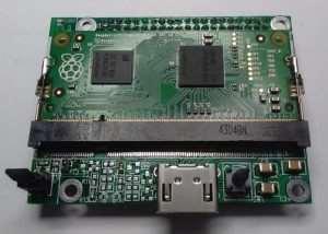 Raspberry Pi Compute To Pi A+ B+ Adaptor its Kickstarter (video)