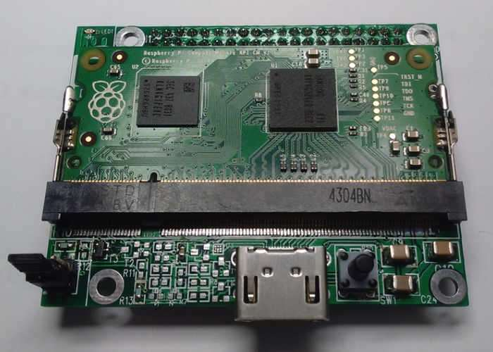 Pi Compute to Pi A+ B+ adaptor