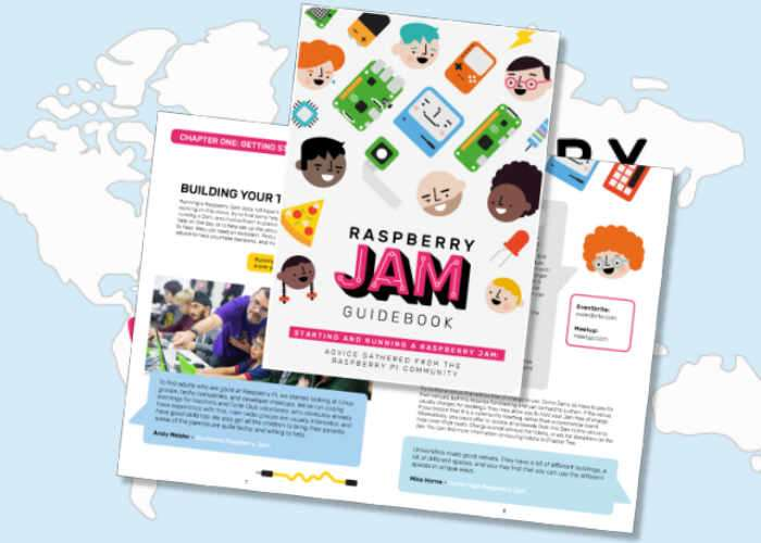 Raspberry Pi Jam Guidebook