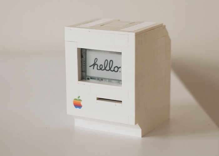 Raspberry Pi powered Apple Macintosh
