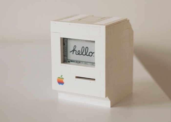 Raspberry Pi powered Apple Macintosh
