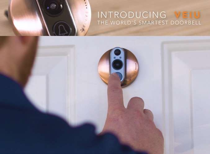 VEIU Smart Camera Doorbell (video) - Geeky Gadgets