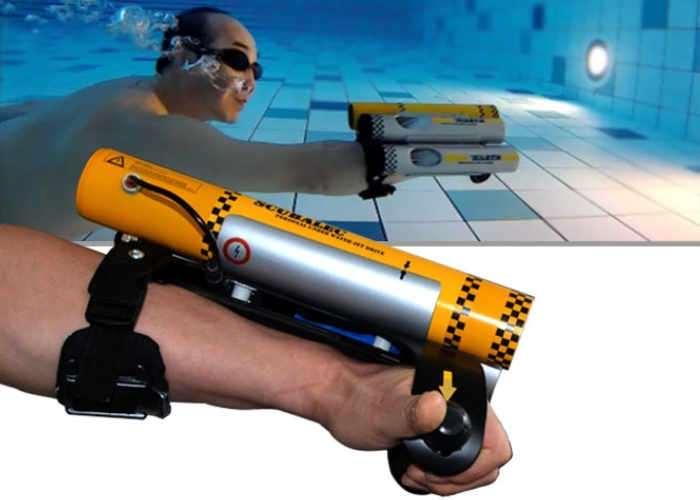 Scubalec Personal Underwater Jet Propulsion