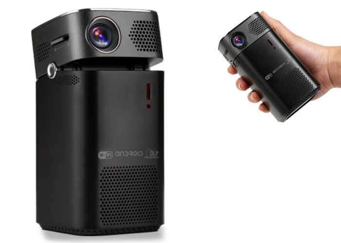 KERUO L7 Portable Smart Pico Projector (video)
