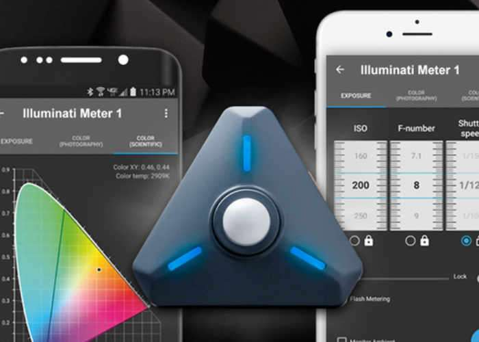 Smartphone Light And Colour Meter