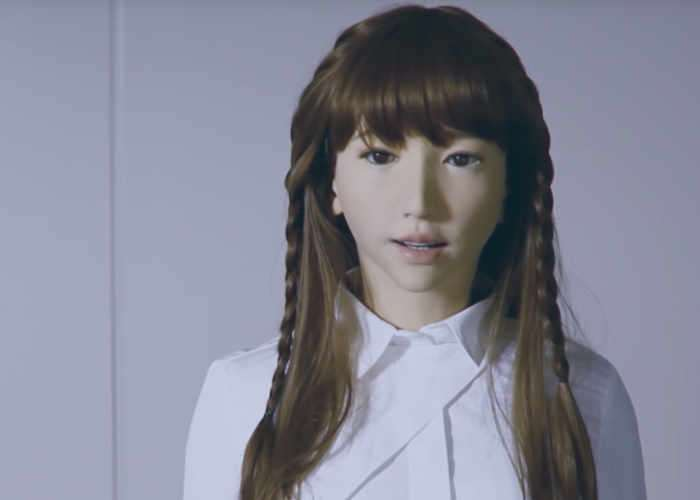 The Story Of Humanoid Robot Erica