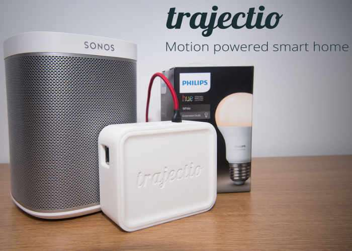 Trajectio Motion Powered Hue And Sonos Controller
