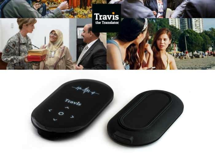 Travis Pocket Real Time Translator Supports 80 Languages (video)