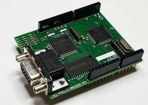 New VGADuino-II 256 Colour Graphic VGA Shield For Arduino (video)