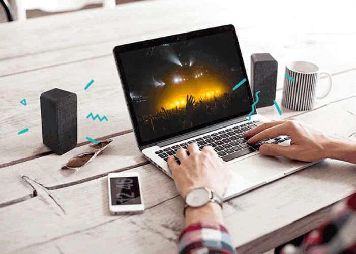 Wireless Stereo Speaker Set