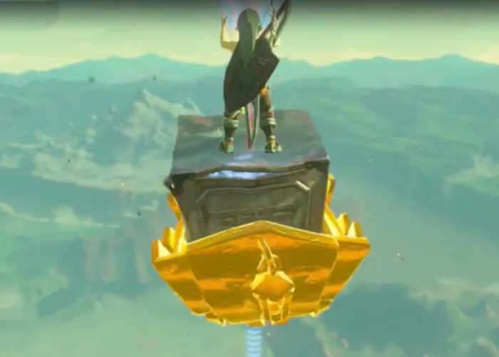 Zelda Player Builds Awesome Flying Contraption