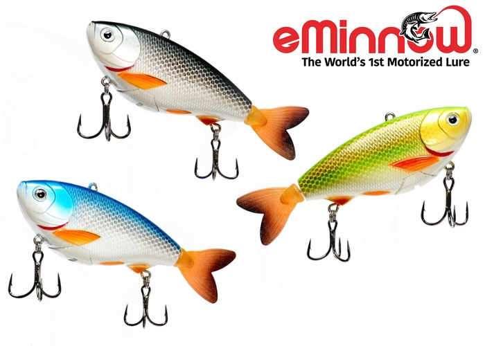 eMinnow Motorised Fishing Lure