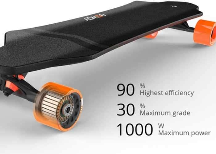 exway Electric Skateboard Hits Kickstarter