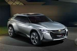 Chevrolet FNR-X Concept Looks Like a Camaro Crossover