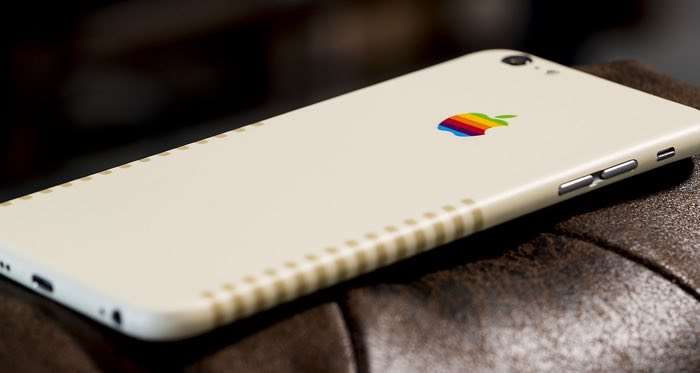 Apple Retro Skins For The iPhone 7