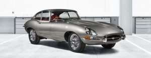 First Jaguar E-type Reborn Model Unveil Coming in Germany