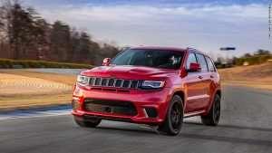 Jeep Grand Cherokee Trackhawk Heads to New York