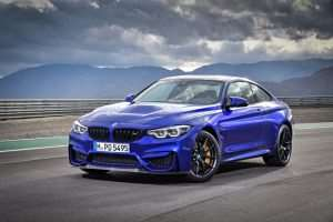 New BMW M4 CS Goes For A Spin (Video)