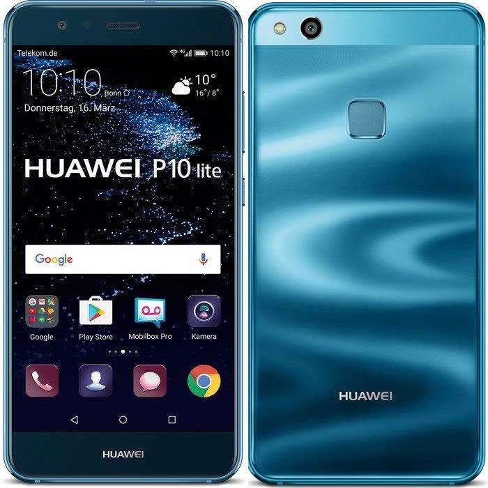 huawei p10 lite launches in blue color geeky gadgets. Black Bedroom Furniture Sets. Home Design Ideas