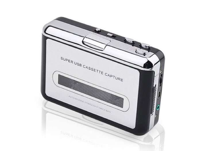 2 in 1 Audio Cassette to MP3 Converter