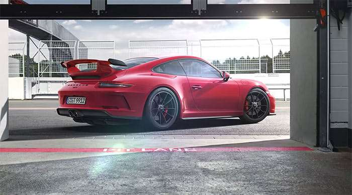 New Porsche 911 GT3 Dominates Outgoing Model at Nurburgring