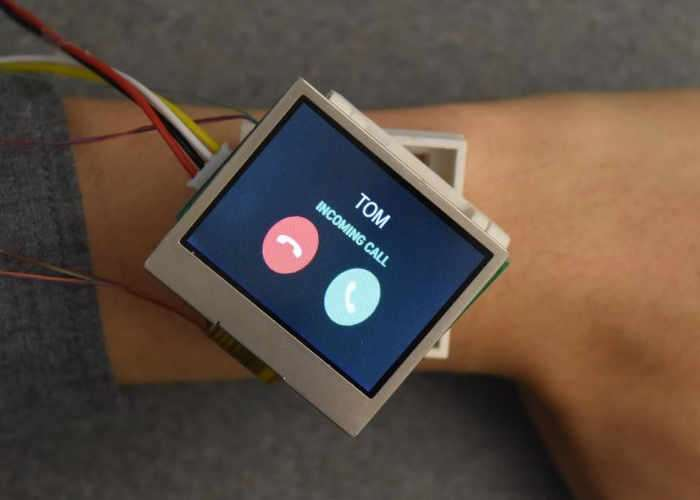 Actuated Smartwatch