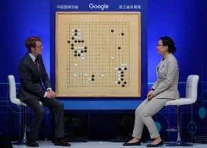 Google AlphaGo Artificial Intelligence Defeats GO World Number One Player