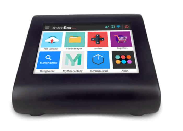 AstroBox Touch 3D Printer Touchscreen Display (video ...