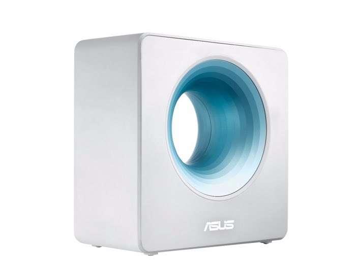 Asus' new Wi-Fi router looks like a Dyson bladeless fan